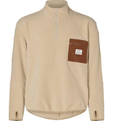 Resteröds M PULLOVER RECYCLE HZ LIGHT CAMEL