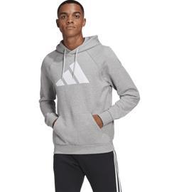 Adidas M FI HOOD GREY HEATHER