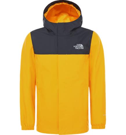 The North Face J RESOLVE REFLECTIVE JACKET SUMMIT GOLD