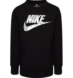 Nike K LS CAMO GRAPHIC TEE BLACK