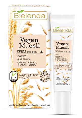 Bielenda Vegan Muesli - Face silmänympärysvoide 15 ml