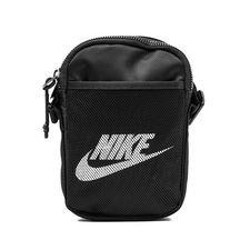 Nike Olkalaukku Heritage Small - Musta/Valkoinen