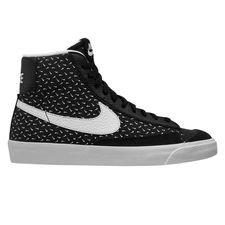 Nike Blazer Mid '77 - Musta/Valkoinen Lapset