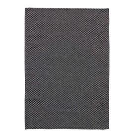 Klippan Yllefabrik Peak Towel 70x70 cm, Black