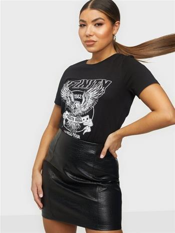 Vila Vivulkan T-Shirt/Ka Black Infinity
