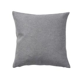 Klippan Yllefabrik Peak Cushion Cover 45x45 cm, Steel Grey