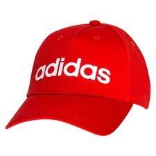 adidas Daily Lippis - Punainen/Valkoinen