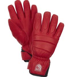 Hestra W FALL LINE LEATHER GLOVE RED
