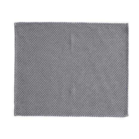 Klippan Yllefabrik Peak Table Mat, Steel Grey