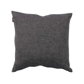 Klippan Yllefabrik Peak Cushion Cover 45x45 cm, Black