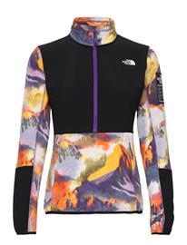 The North Face W Diablo Midlay 1/4 Sweat-shirts & Hoodies Fleeces & Midlayers Monivärinen/Kuvioitu The North Face PEAKPURPLEALPSASCENTPRINT