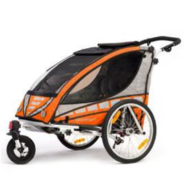 QERIDOO Polkupyörän peräkärry Sportrex2, oranssi