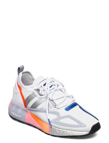 adidas Originals Zx 2k Boost Matalavartiset Sneakerit Tennarit Valkoinen Adidas Originals FTWWHT/SILVMT/GLOBLU