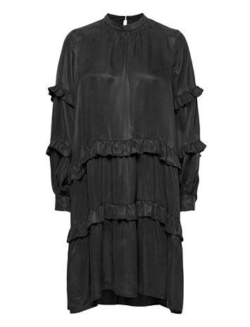 Bruuns Bazaar Sianna Makka Dress Polvipituinen Mekko Musta Bruuns Bazaar BLACK