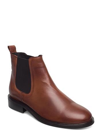 Bianco Biajessica Classic Chelsea Shoes Chelsea Boots Ruskea Bianco COGNAC