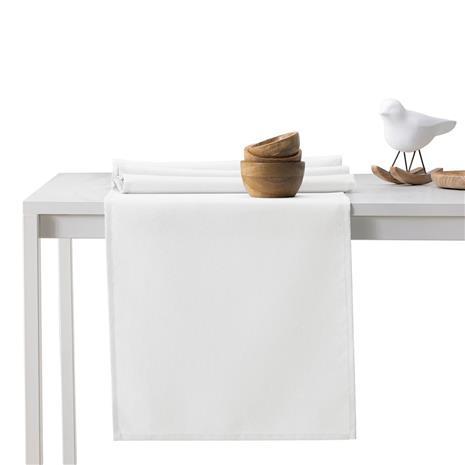 Decoking Pure -kaitaliina, valkoinen, 115 x 250 cm + 35 x 250 cm