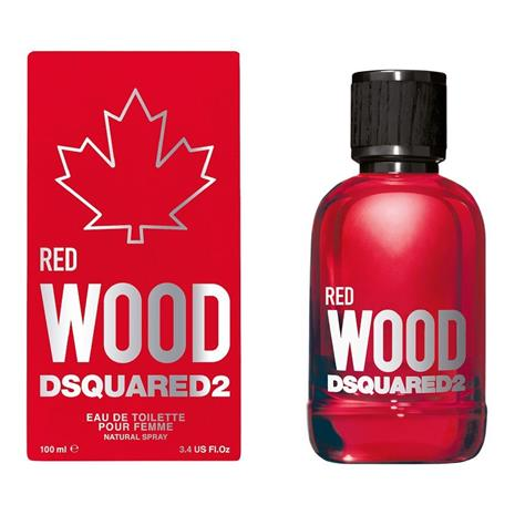 Dsquared Red Wood EDT naiselle 100 ml
