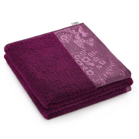 AmeliaHome Crea -käsipyyhe, violetti, 50 x 90 cm