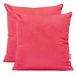 Decoking Amber -tyynyliina, vaaleanpunainen, 50 x 50 cm, 2 kpl
