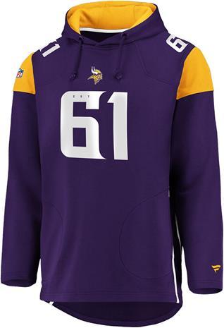 NFL - Minnesota Vikings - Vetoketjuhuppari - Miehet - Purppura
