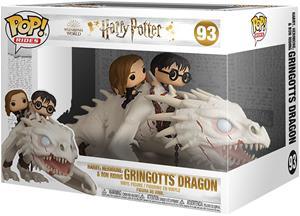 Harry Potter - Harry, Hermine & Ron riding Gringotts Dragon (Pop Rides) Vinyl Figur 93 - Funko Pop! -figuuri - Unisex - multicolor