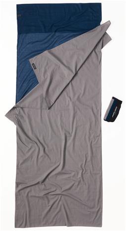Cocoon TravelSheet cotton, tuareg/elephant grey