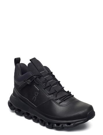 On Cloud Hi Wp Korkeavartiset Tennarit Musta On ALL BLACK, Naisten kengät