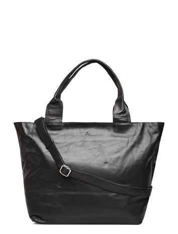 Adax Amalfi Shopper Malena Shopper Laukku Musta Adax BLACK