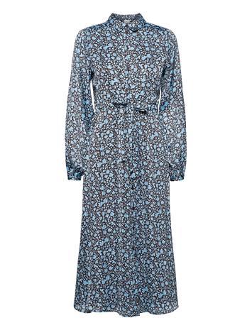 Fabienne Chapot Frida Midi Dress Maksimekko Juhlamekko Sininen Fabienne Chapot IVY DARK CHOCOLATE/ICE B