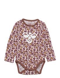 Hummel Hmldora Body L/S Bodies Long-sleeved Liila Hummel HUSHED VIOLET