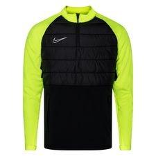 Nike Harjoituspaita Padded Academy Drill - Musta/Neon/Hopea