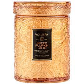 Voluspa Mini Glass Jar Candle With Lid Spiced Pumpkin Latte (156g)