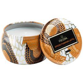 Voluspa Decorative Tin Candle 25h Spiced Pumpkin Latte (113g)