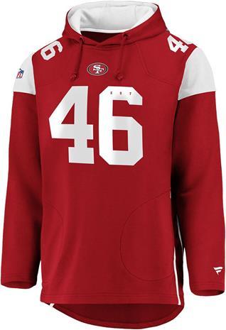 NFL - San Francisco 49ers - Vetoketjuhuppari - Miehet - Punainen