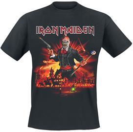 Iron Maiden - LOTB Live Album - T-paita - Miehet - Musta