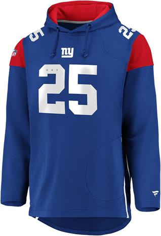 NFL - New York Giants - Vetoketjuhuppari - Miehet - Syvänsininen