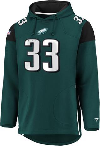 NFL - Philadelphia Eagles - Vetoketjuhuppari - Miehet - Petroolinsininen