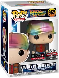 Back To The Future - Marty in Future Outfit (Metallic) Vinyl Figur 962 - Funko Pop! -figuuri - Unisex - multicolor