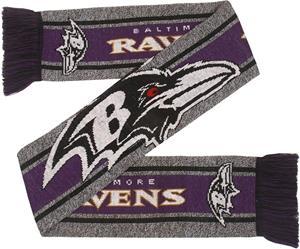 NFL - Baltimore Ravens - Huivi isolla logolla - Huivi - Unisex - Monivärinen