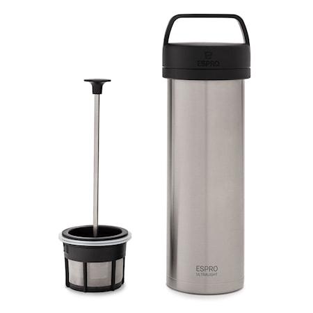 Espro Espro Travel Pressmug Ultralight, stål, termo, kaffe