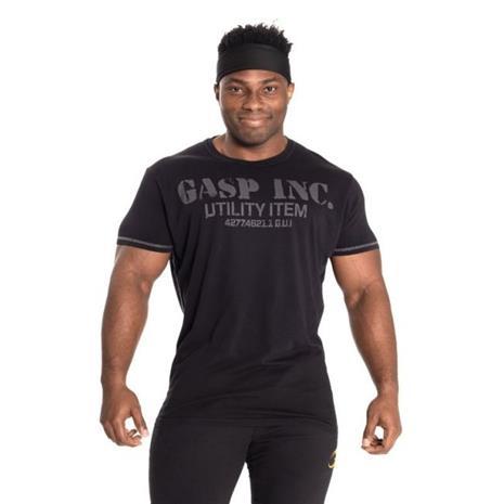 GASP Basic Utility tee, musta