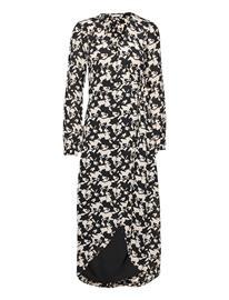 Fabienne Chapot Natasja Dress Polvipituinen Mekko Musta Fabienne Chapot PIE BLACK/WARM WHITE
