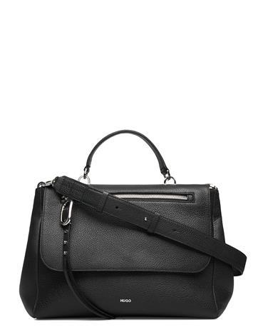 HUGO Kim Top Handle Bags Top Handle Bags Musta HUGO BLACK