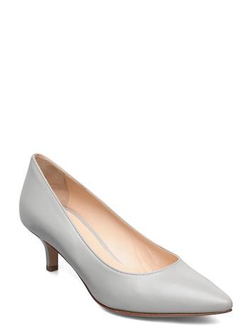 Jennie-Ellen Loui Shoes Heels Pumps Classic Harmaa Jennie-Ellen GREY LEATHER