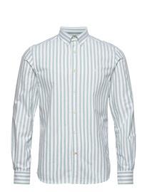 Morris Giles Button Down Shirt Paita Rento Casual Vihreä Morris GREEN
