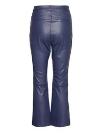 By Malina Nico Pants Leather Leggings/Housut Sininen By Malina DEEP BLUE