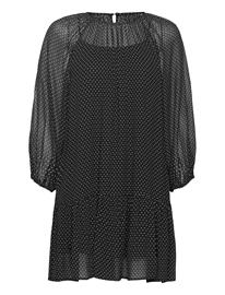 nuä© notes Olympia Dress Polvipituinen Mekko Musta Nuä© Notes BLACK