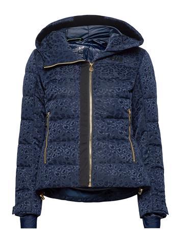 Helly Hansen W Valdisere Puffy Jacket Outerwear Sport Jackets Sininen Helly Hansen 597 NAVY