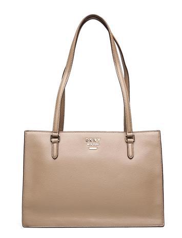 DKNY Bags Whitney-Cntr Zp Tote Shopper Laukku Beige DKNY Bags DUNE