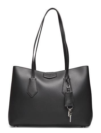 DKNY Bags Sullivan-Ew Tote Shopper Laukku Musta DKNY Bags BLK/LATTE